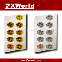 B13P3 pièces d'ascenseur bouton-poussoir / bouton d'ascenseur kone / bouton poussoir d'ascenseur