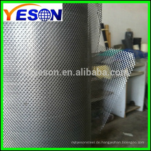 Expanded Metal Mesh für Gebäude / Hochwertiges Streckmetallgewebe mit ISO9001 Zertifikat