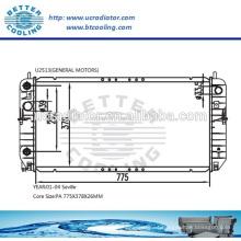 Auto repuesto parte radiador para General Motors Sevilla 01-04 OEM: 52486867/52486868