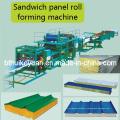 EPS/ Wool Sandwich Panel Roll Forming Machine
