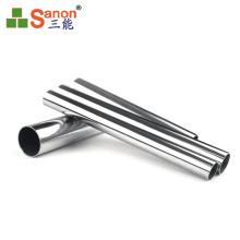 High quality custom satin mirror  sus304 ss201 stainless steel round  pipe