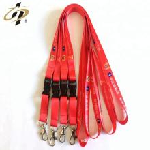 Хорошее качество красный и черный 100% полиэстер двухсторонняя атласная лента