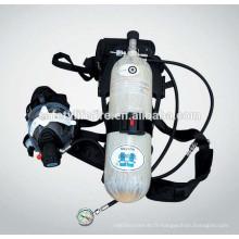 appareil respiratoire à oxygène / Appareil respiratoire / Respirateur de sécurité incendie