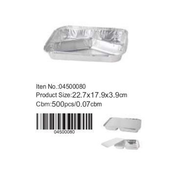 moule de gâteau de 22,7 * 17,9 cm en aluminium aluminium