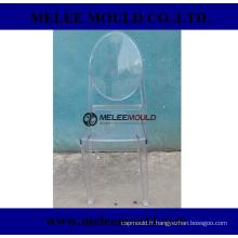 Moule en plastique sans bras de chaise de meubles de maison de Melee