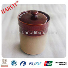 ceramic container for tea or sugar storage