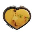 Amor em forma de espelho compacto