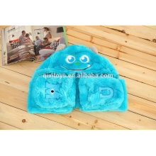 Plush Animal fleece set animal scarf lady print warm scarf