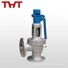 Válvula de retención de seguridad de gas / agua DN20-DN300 relevada por resorte