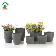 Invernadero de cerámica macetas de flores