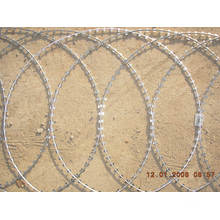 Galvanized Iron Razor Wire