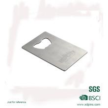 Einfache Aluminium Rechteck Form Flaschenöffner