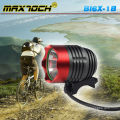 Linterna recargable luz LED bicicleta de alta potencia Maxtoch BI6X-1B