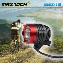 Maxtoch BI6X-1B alta potência LED Bike luz lanterna recarregável