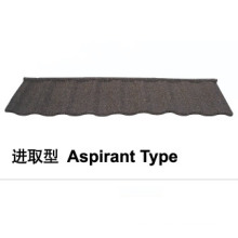 Aspirant Type Stone Coated Metal Roof Tile
