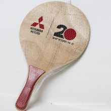 entertainment product high quality hot selling wooden beach tennis racket