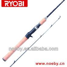 2 Sections high carbon fishing rod RYOBI rod