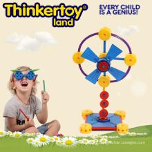 Electric Fan Model Educação e Construção Intelectual Brick Toy