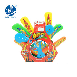 Accept OEM/ODM Order Plastic Outdoor Game Boomerang Disk