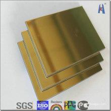 Megabond Silver Surface ACP Revestimiento de aluminio