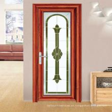 Feelingtop moderno Casement Thermal Break Puerta de la sala de estar con bisagras de aluminio