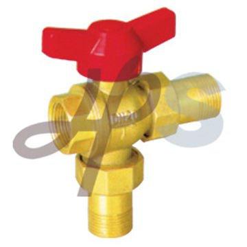 brass 3-way ball valve