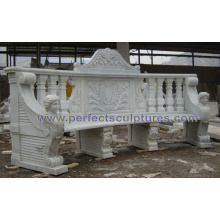 Antique Stone Marble Chair for Garden Outdoor Furniture (QTC072)