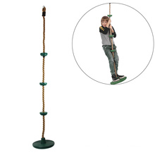Climbing Rope Tree Swing with Disc