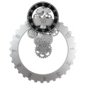 Reloj de pared Big Gear blanco