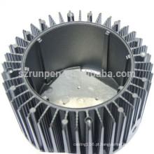 Carcaça de LED de alumínio