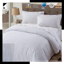 100% Baumwolle oder T / C 50/50 Jacquard Hotel / Haus Bettwäsche Set (WS-2016279)