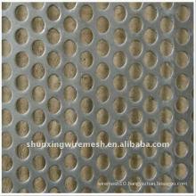 Round Mesh Perforated Metal Sheet