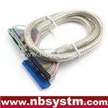Câble de données parallèle IDE ATA133 avec tressage