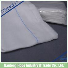 absorbente quirúrgico estéril estéril 100% algodón radiografía detectable gasa esponja