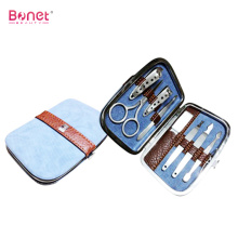 8pcs Leather Bag Manicure Pedicure Set