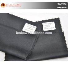 Abrigo de cachemira negro marino oscuro y oscuro para otoño e invierno