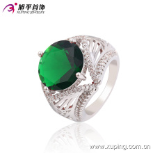 Xuping Latest Cool Design with CZ Big Stone Custom Aqeeq Jewelry Rings -13664