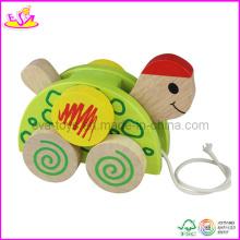 2015 nouveau jouet en bois animaux pour les enfants, populaire en bois jouet animal pour les enfants, vente chaude mignon jouet en bois animaux pour bébé W05b036