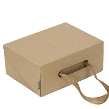 Custom Logo Corrugated Cardboard Paper Shoe Box for Clothes Packaging Box