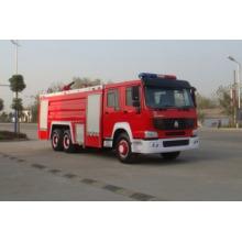 12, 000L HOWO 6 * 4 Camión de lucha contra incendios (ZZ1257N4341W)