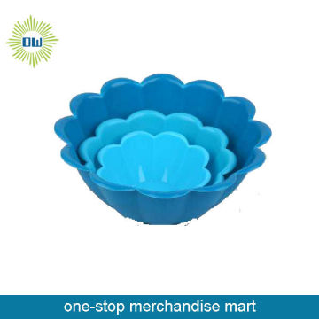 plastic salad bowl set