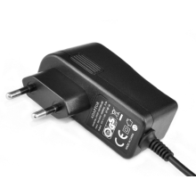 Adaptador vertical horizontal do poder de 12V 4A com USB