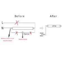 t8 led tube, 2ft 3ft 4ft 5ft G13 18w 20w 25w Dimmable Microwave Motion sensor T8 LED tube, LED light tube, LED tube light