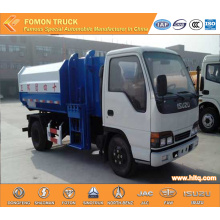 JAPAN technology 4x2 6CBM self loading garbage truck