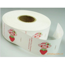 Impressão Strawberry Wash Label for Care