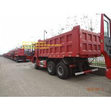 รถบรรทุก dump red 18m3 ของ sinotruk