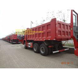 Red  18m3 dump truck of sinotruk