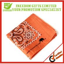 Fashion Design Cheap 100% Cotton Custom Bandana
