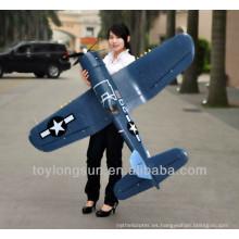 Avión RC de hélice de paso ajustable F4u 2.4G 12CH