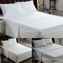 Custom Made Wholesale Bed Sheet White Top Sheet Made in China